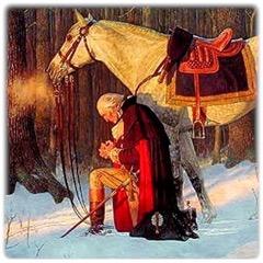 Washington-Praying-at-Valley-Forge